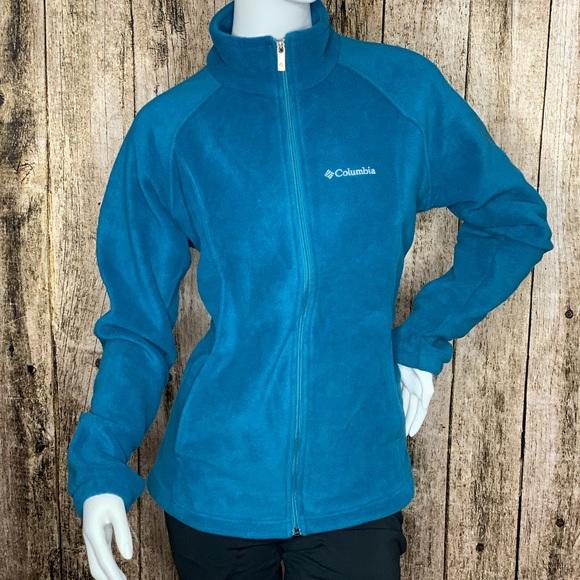Columbia Jackets & Blazers - Columbia Full-Zip Fleece Jacket in Teal